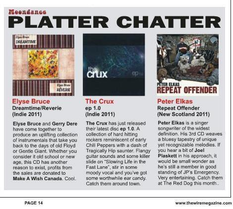 September 2011_CD Review_The Wire Megazine
